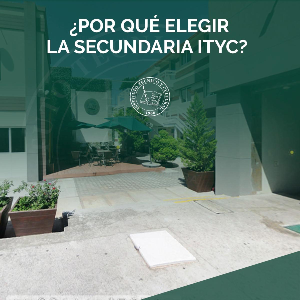 ¿Por qué elegir la secundaria ITYC?
