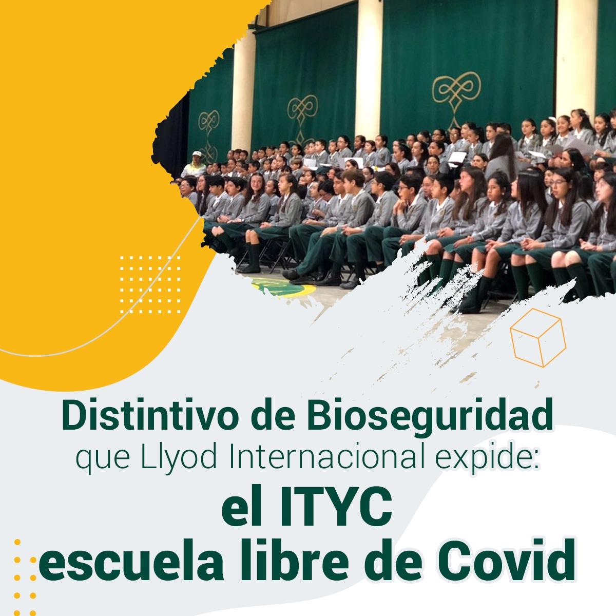 El ITYC, escuela libre de COVID