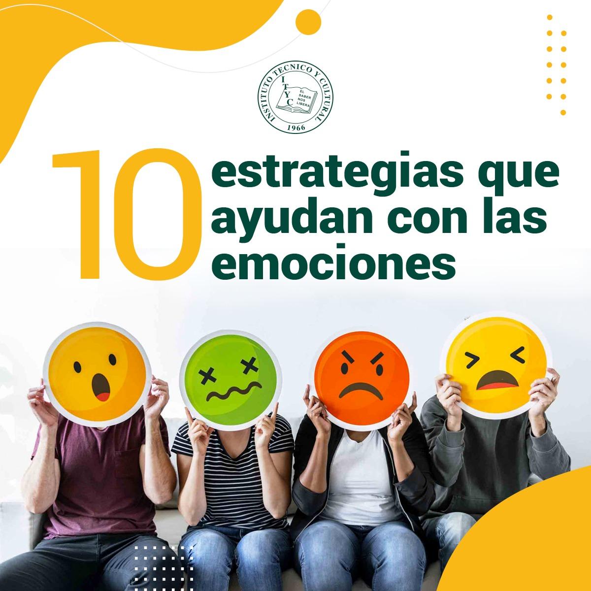 10 estrategias que ayudan con las emociones