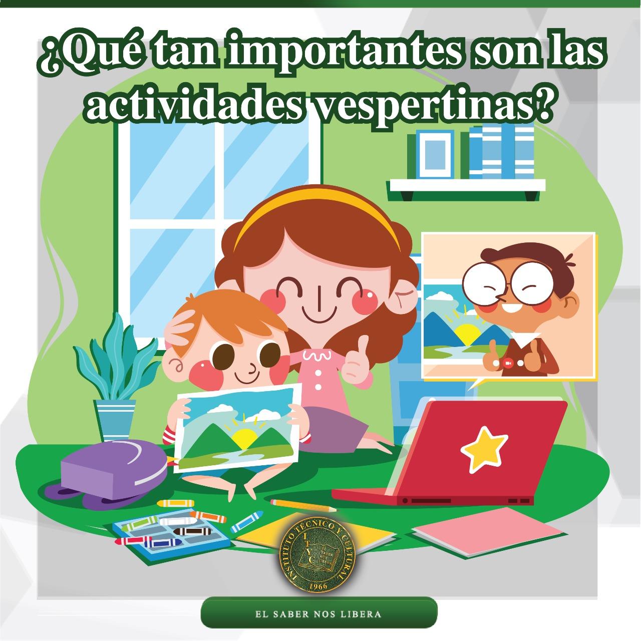 ¿Qué tan importantes son las actividades vespertinas?